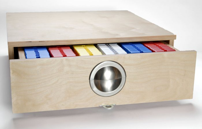 photo of Keysure key control products in storage drawer