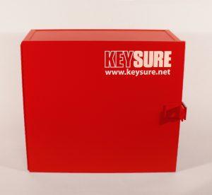 photo of Keysure key control storage cabinet