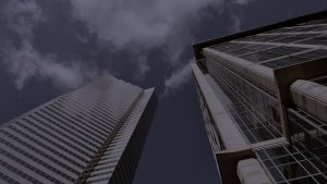 photo of high rise buildings
